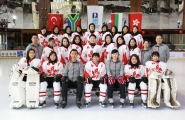 <h5>2015 IIHF Ice Hockey Women's World Championship Division II Group B Qualification - Hong Kong</h5><p>1 WONG Ying Chi Virginia, 3 CHOW Wai Yee, 4 CHAN Wai Joanna Costello, 5 CHAN Chung Yu Queenie, 6 LAM Wai Ping Nero, 7 LAU Yeuk Ting, 9 KWOK Hoi Kei (Alternate), 10 IP Estelle Claudia, 11 CHEUNG Ka Yan, 13 LEUNG Tsui Shan Aman (Alternate), 15 WONG Tsui Yi, 16 CHOW Yick Shuen, 17 KWAN Yim Kuen, 18 CHU Ka Bik Cindy (Captain), 19 KONG Cheryl Lauren, 21 LIN Suet Ning Joey, 22 LOW Wai Man Vivian, 23 KONG Patricia Anne, 24 LAM Ho Yi, 25 LEE Jenny Kai-Chin.  Head Coach: WAKABAYASHI Hiroki Assistant Coach: TAN Anqi General Manager:  LEUNG Kevin Kai-Wah Team Leader: LI Adrienne May Equipment Manager: SHUM Ming Shing</p>