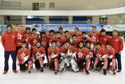 <h5>2014 U16 Team - 2nd Chinese Taipei Youth Ice Hockey Tournament</h5>